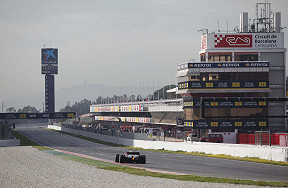 Formel 1 Wintertestfahrten 2020