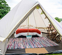 Ferry, Transfer and Glamping Package