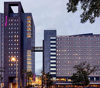Mercure Hotel Amsterdam City with General Admission (King Size Room, Two People)
