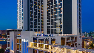 Shared Bed - Grandstand Lower Levels - Hilton Austin Airport - Cup Only
