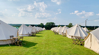 Coach and Glamping Package