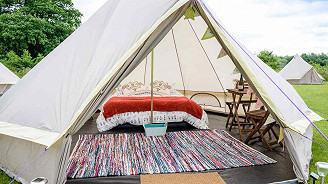 Eurotunnel and Glamping Package