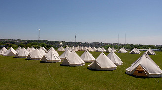 4 Night Zoo Bell Tents Race Break One (4 Persons)