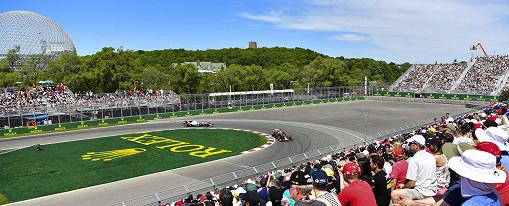 Circuit Gilles Villeneuve, the Canadian F1 race track