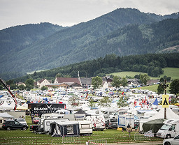 Red Bull Ring Camping Orange