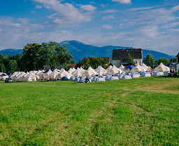 Red Bull Ring Pink Premium Campsite