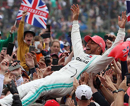 Five Best tracks for Lewis Hamilton