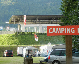 Red Bull Ring Camping Rot
