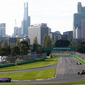 Albert Park Circuit, the Australian F1 race track