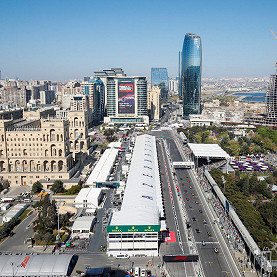 Baku City Circuit, the Azerbaijan F1 race track