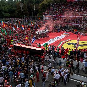Autodromo Nazionale Di Monza, the Italian F1 race track