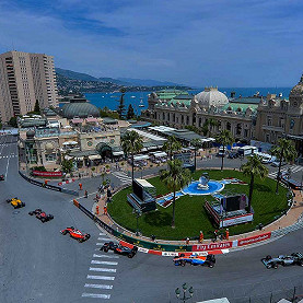 Circuit de Monaco, the Monaco F1 race track