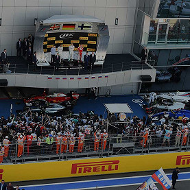 Sochi Autodrom, the Russian F1 race track