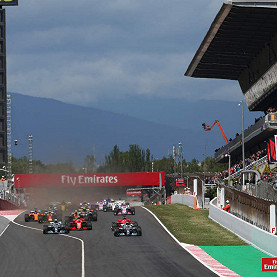 Circuit De Catalunya, the Spanish F1 race track