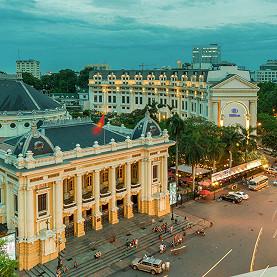 Hanoi Street Circuit, the Vietnam F1 race track
