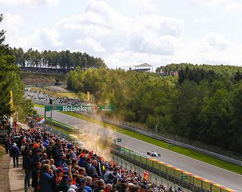 von Belgien Formel 1 Großer Preis 2021
