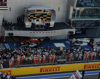 Formel 1 Grand Prix von Russland Formel 2021