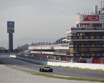 Wintertestfahrten Formel 1 Großer Preis 2021
