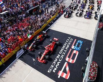 der USA Formel 1 Großer Preis 2020