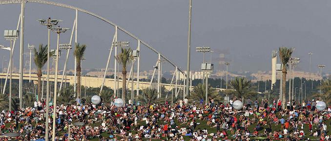 Abu Dhabi Anhöhe