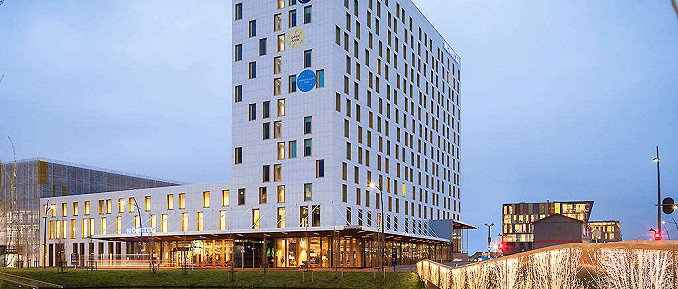 Novotel Schiphol Airport with General Admission