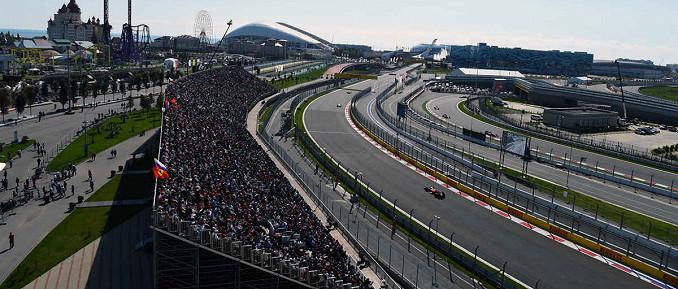 Sochi Autodrom, Austragungsort des Großen Preises von Russland