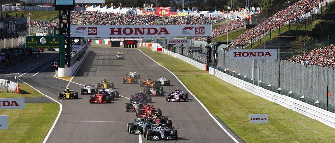 Suzuka International Circuit, Austragungsort des Großen Preises von Japan
