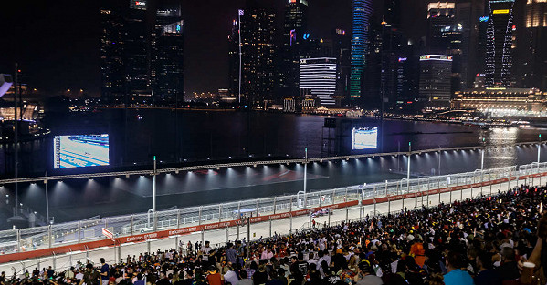 View from Bay Grandstand