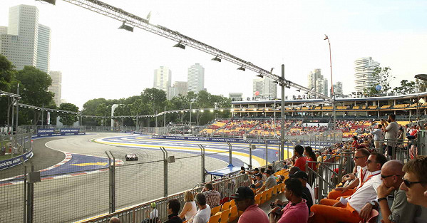 View of Turn 1