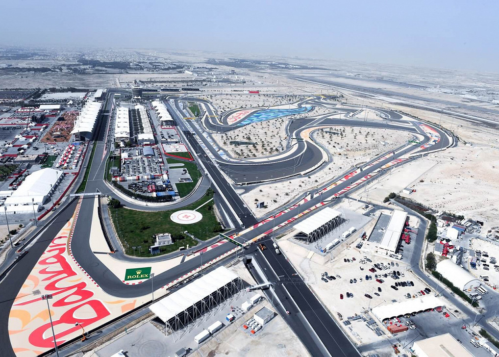 Bahrain International Circuit, the Bahrain F1 race track