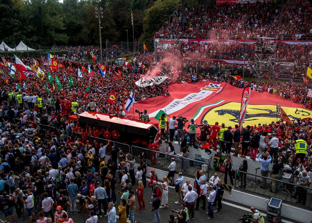 Autodromo Nazionale Di Monza, Austragungsort des Großen Preises von Italien