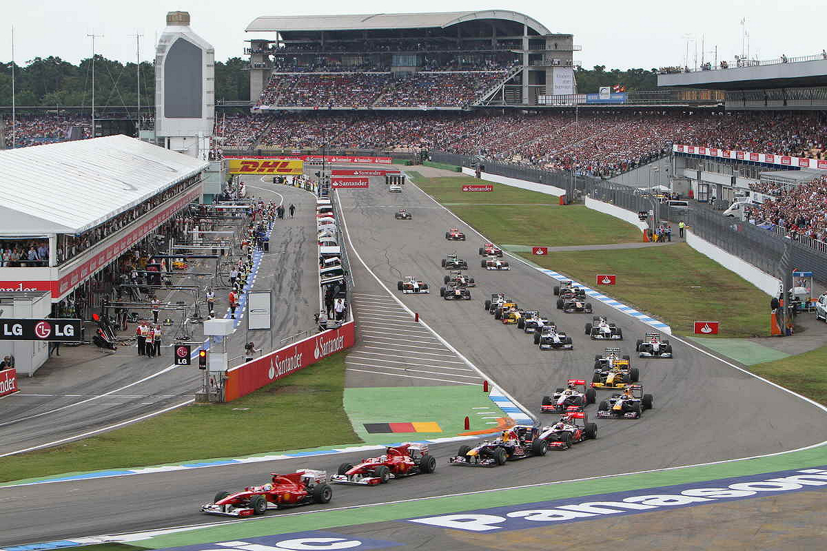 2018 German Formula 1 Grand Prix Tickets