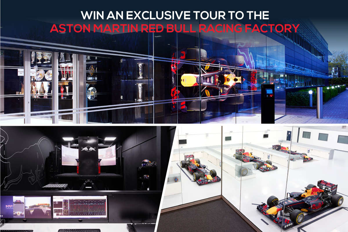 Aston Martin Red Bull Racing Factory Contest