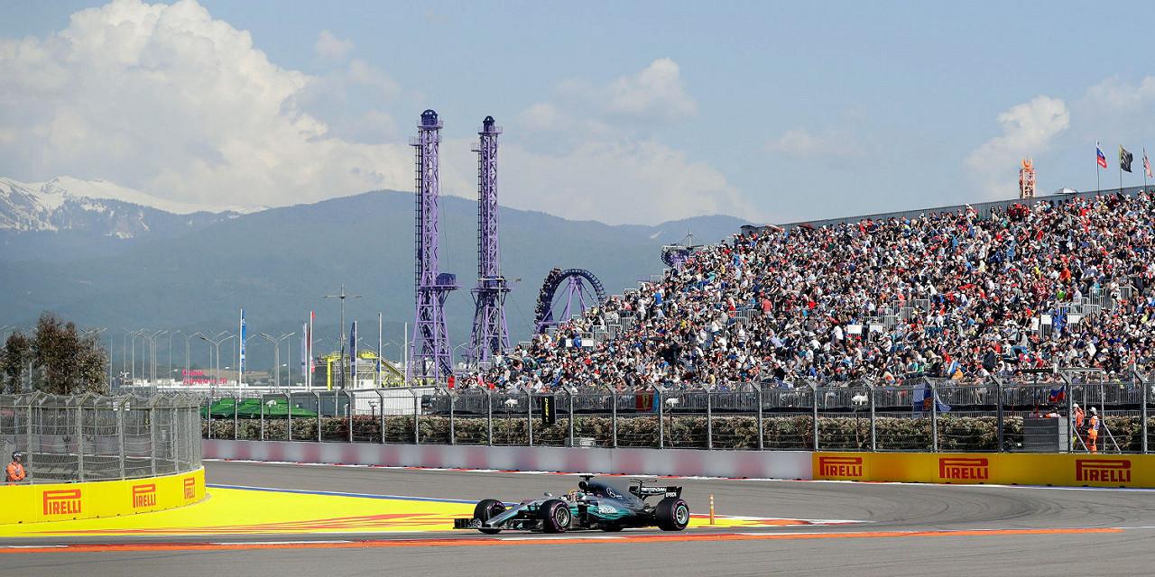 2018 Russian F1 Grand Prix Tickets on sale!