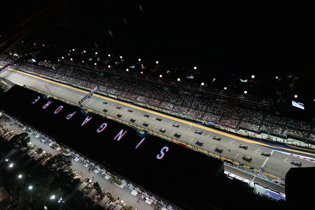 Singapore F1 Grand Prix - Pit Lane Experience