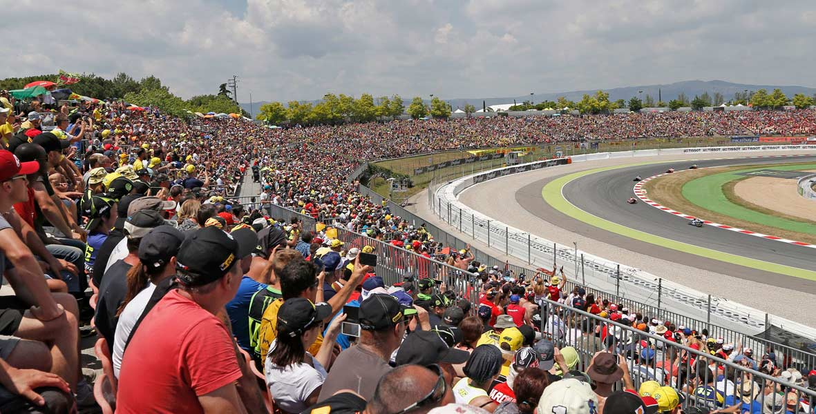 Catalunya MotoGP 2019 ENTRY TICKETS - General Admission, Grandstand, and Hospitality