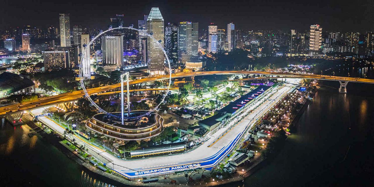 FORMULA 1 SINGAPORE AIRLINES SINGAPORE GRAND PRIX 2019