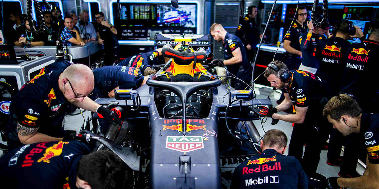 Aston Martin Red Bull Racing Testing 2019!