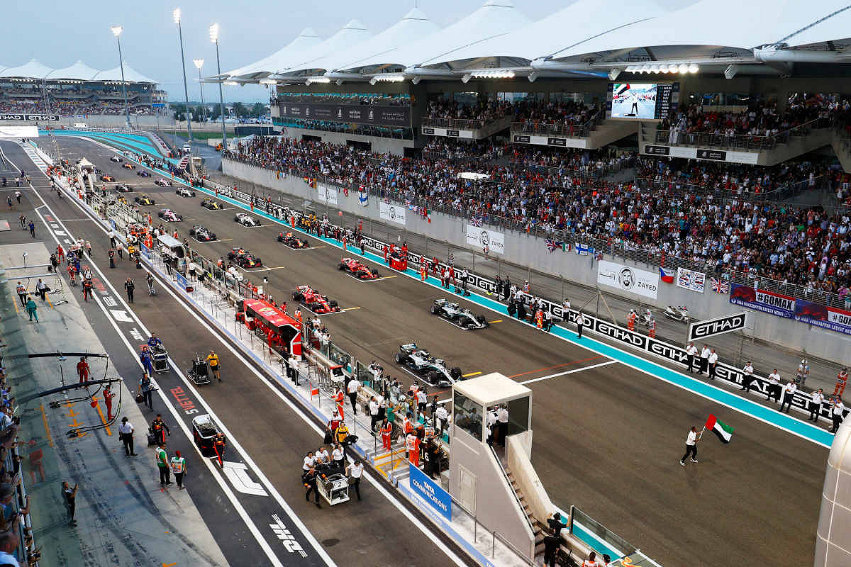 2019 Abu Dhabi Formula 1 Grand Prix Tickets
