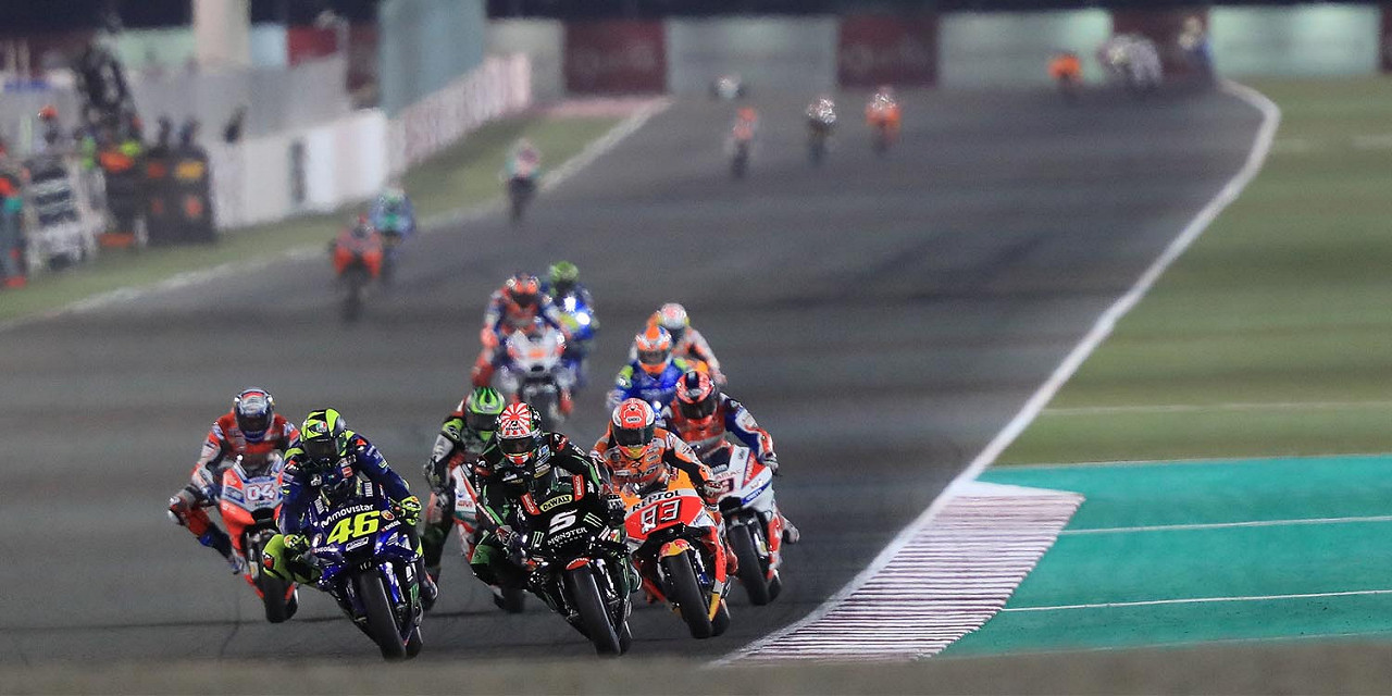 Qatar MotoGP at Losail International Circuit