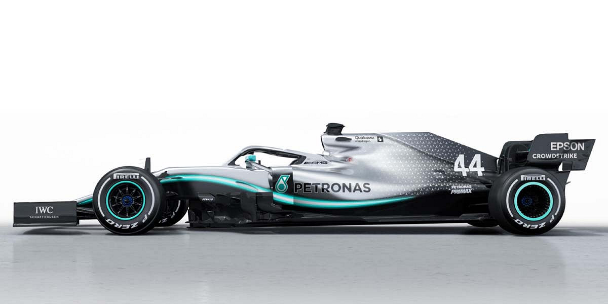Mercedes Unveil the W10 for 2019