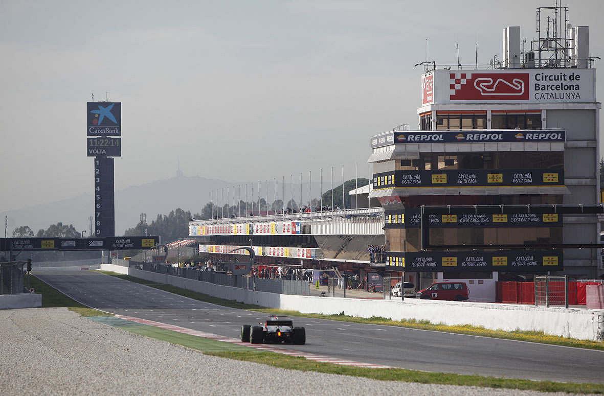 Wintertestfahrten Formel 1 Großer Preis 2020