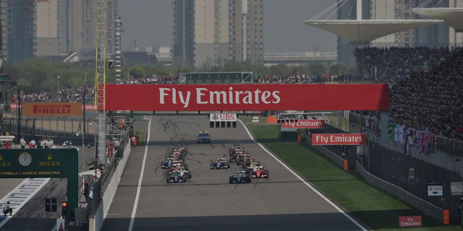 von China Formel 1 Großer Preis 2020