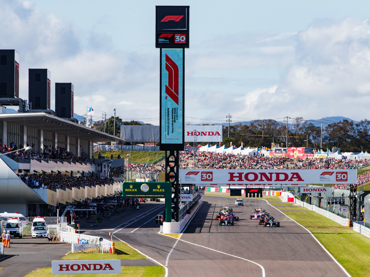 Japanese Grand Prix Tickets now on Sale