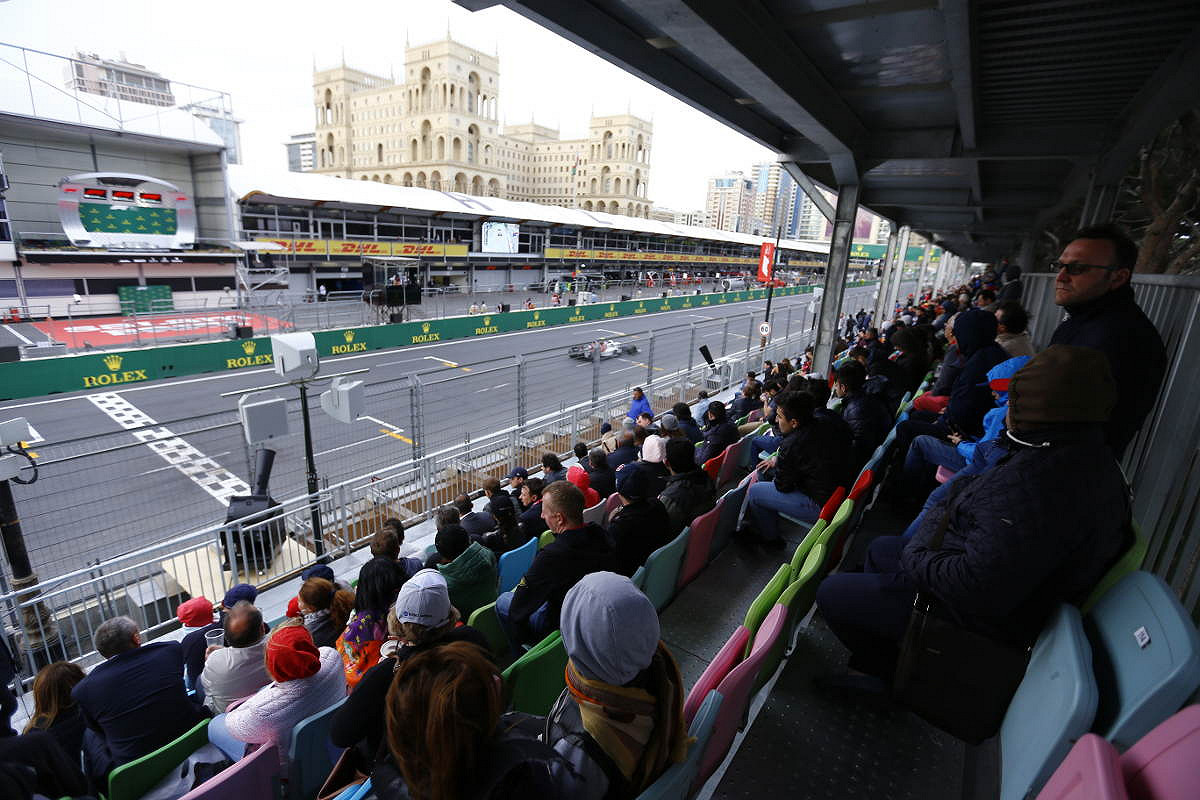 Absheron Main Grandstand: Section A