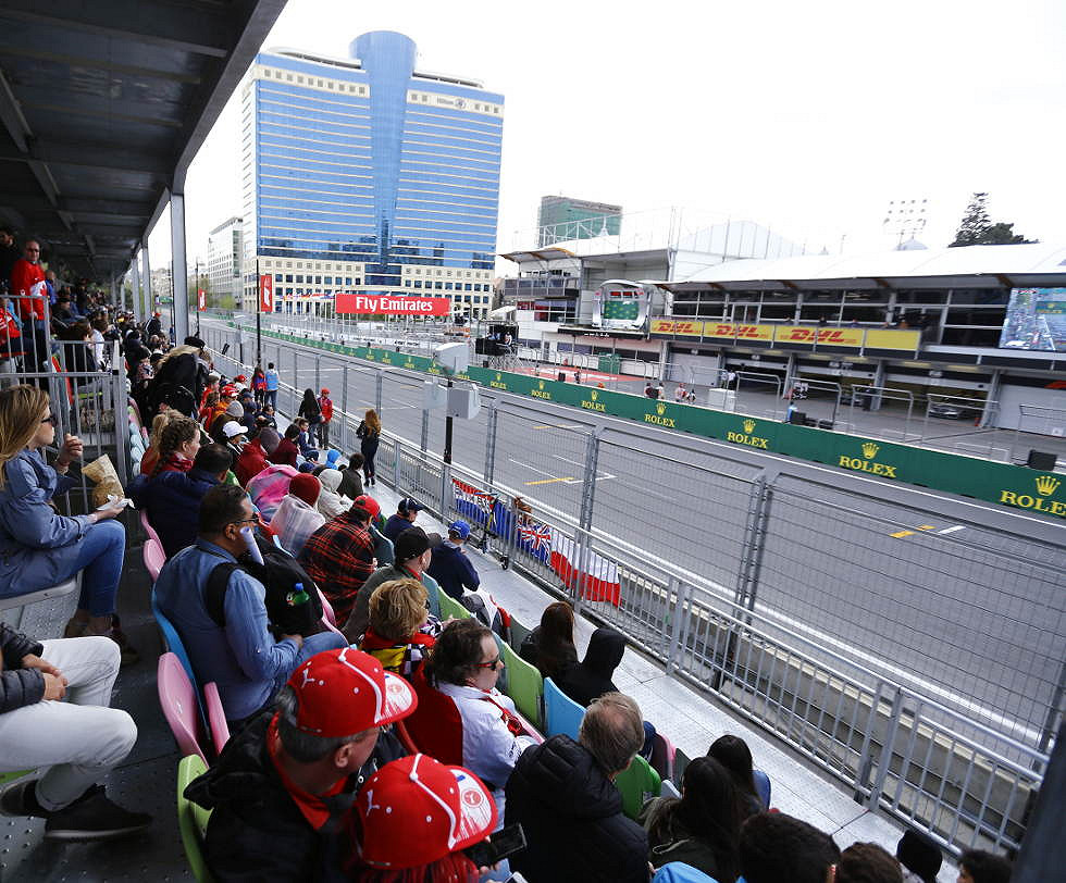 Absheron Main Grandstand: Section B