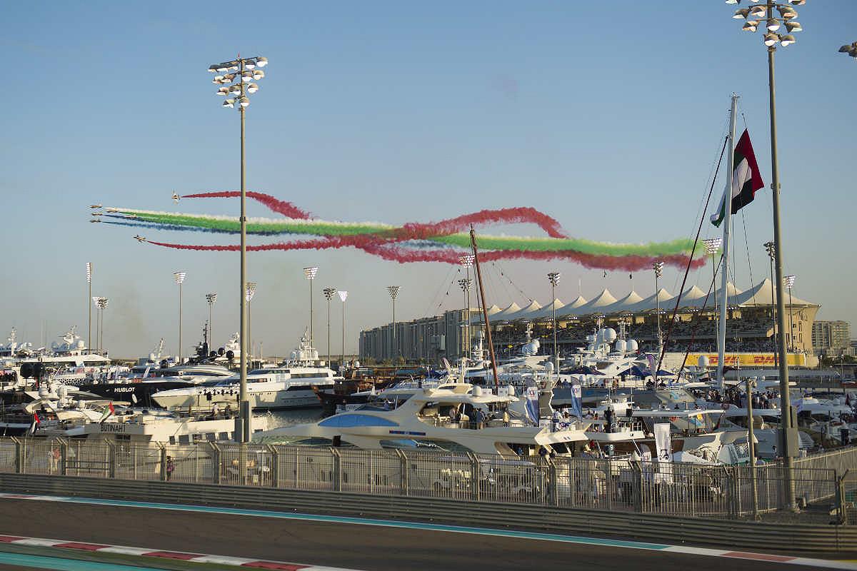 Abu dhabi harbour club yas viceroy opening ceremony