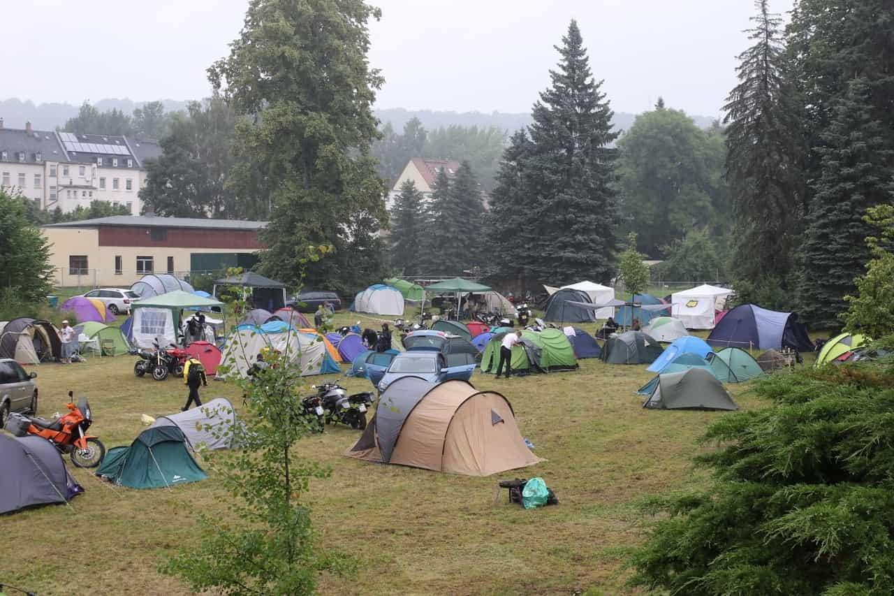 Hoteles, zonas de acampada y más opciones de alojamiento