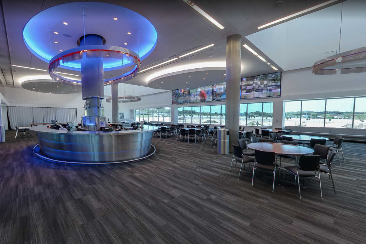 Americas main club level velocity bar