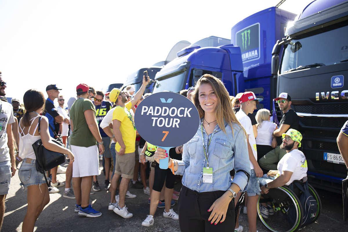 Aragon paddock tour